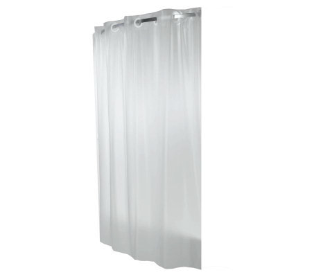 Hookless Frost Shower Curtain Liner H185314