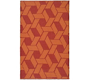 Thom Filicia 6 x 9 Danforth Recycled PlasticOutdoor Rug - H186514