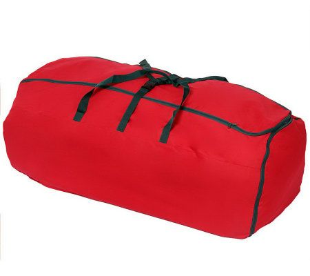 expandable christmas tree storage bag with wheels page 1 u2014 qvccom - Christmas Tree Bags