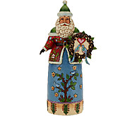 Jim Shore Heartwood Creek Williamsburg 8 1/2 Santa Figurine - H206514