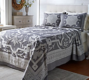 Barbedo 100Cotton Woven Jacquard Bedspread - H214214