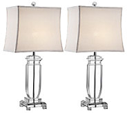 Set of 2 Olympia Crystal Table Lamps by Valerie - H284914