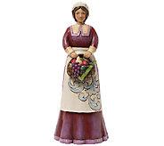 Jim Shore Heartwood Creek Pilgrim Woman Figurine - H285314