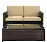 Palm Harbor 2-Piece Outdoor Wicker Seating Set - H289514