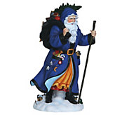 Limited Edition Tannenbaum Santa Figurine byPipka - H290014