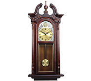 Bedford Clock 38 Grand Antique Style Chiming Wall Clock - H291114