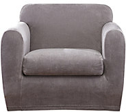 Sure Fit Stretch Chenille 1-Cushion Chair Slipcover - H292314