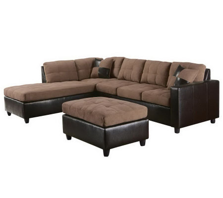 Milano Sectional Sofa Ottoman By Acme Furniture