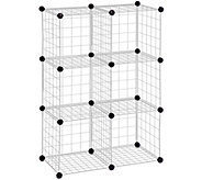 Honey-Can-Do 6-Pack Steel Wire Modular StorageCubes - H356414