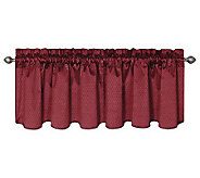 Eclipse 42 x 21 Canova Blackout Window Valance - H367514