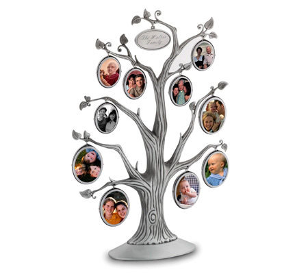 Things Remembered Personalized Family Tree Frame Qvc Com