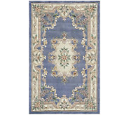 Rugs America New Aubusson 2 x 4 Wool Accent Rug - H140015