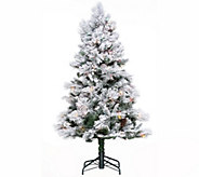Hallmark 5 Snowdrift Spruce Tree with Quick Set Technology - H208815