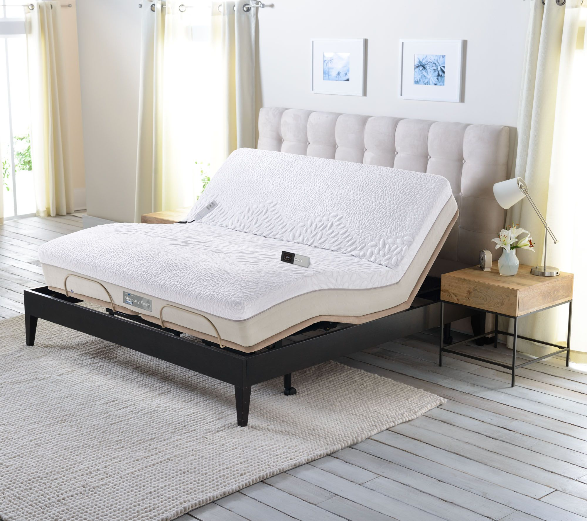 Sleep Number Memory Foam Full Mattress With Adjustable