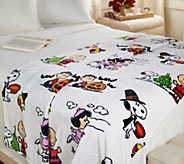 Peanuts 55 x 70 Velvet Soft Throw by Berkshire - H211315