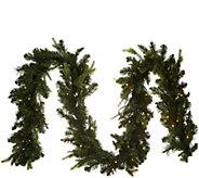 As Is Bethlehem Lights Prelit 9 Green Garland - H215015