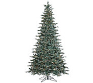 9 Prelit Frosted Crystal Balsam Tree by Valerie - H286915