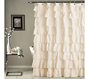 Ruffle Shower Curtain by Lush Decor - H287615