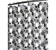 Watershed 2-in-1 Stones 72x72 Shower Curtain - H349415