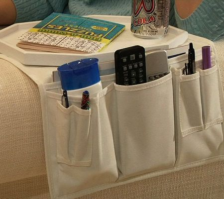 Couch Tray Table And Organizer By Lori Greiner   Page 1 U2014 QVC.com