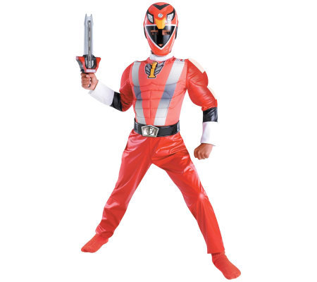 Power Ranger RPM Red Ranger Classic Muscle Child Costume