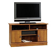 Sauder Harvest Mill Panel TV Stand - Abbey OakFinish - H182516