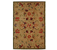 Anatolia 5x8 Beige Handtufted Oriental Wool Rug - H183616