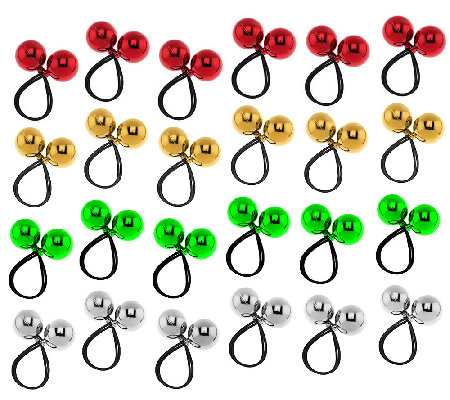 24-piece Shiny Bungee Bobbles by Valerie