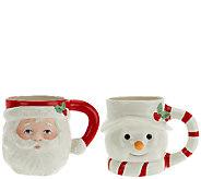 Lenox 2-pc. Porcelain Mug Set with Gift Box - H205416