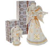 "Temp-tations 8"" Illuminated Ceramic Character w/ Ornament"