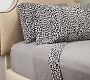Malden Mills Polar Fleece Printed Hem Full Sheet Set - H209316