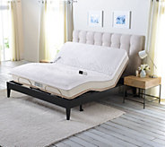 Sleep Number Memory Foam Queen Mattress with Adjustable Adjustable Base - H209616