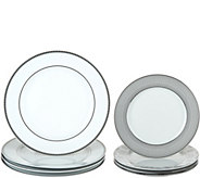 Dennis Basso 8-Piece Coordinating Ceramic Plate Set - H213216