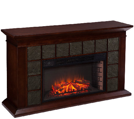 Winslow Electric Fireplace — QVC
