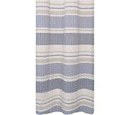 Seersucker Multi Bands 72 x 72 Shower Curtain - H290816