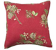 Plow & Hearth Peaceful Pine Throw Pillow - H292416