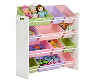 Honey-Can-Do Pastel Colors Sort-and-Store Toy Organizer - H357016