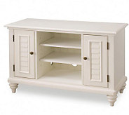 Home Styles Bermuda Brushed White TV Stand - H361716