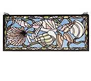 Tiffany Style Seashells Window Panel - H123517