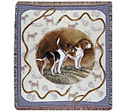 Beagle Tapestry Throw by Simply Home - H188017