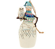 Jim Shore Heartwood Creek Snowman Ornament - H203817