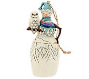 Jim Shore Heartwood Creek Snowman Ornament - H203817
