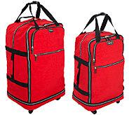 Biaggi Zip Sak Foldable Luggage by Lori Greiner - H205017