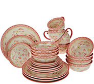 Temptations 24-piece Old World Service for 4 Dinnerware Set - H208117