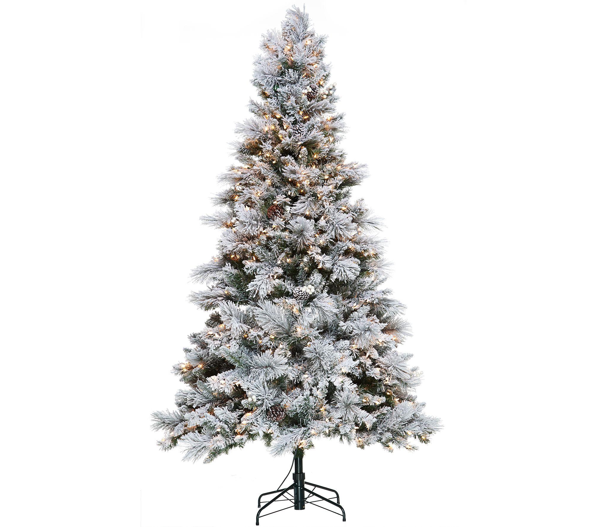 Hallmark 7.5' Snowdrift Spruce Tree with Quick Set Technology ...