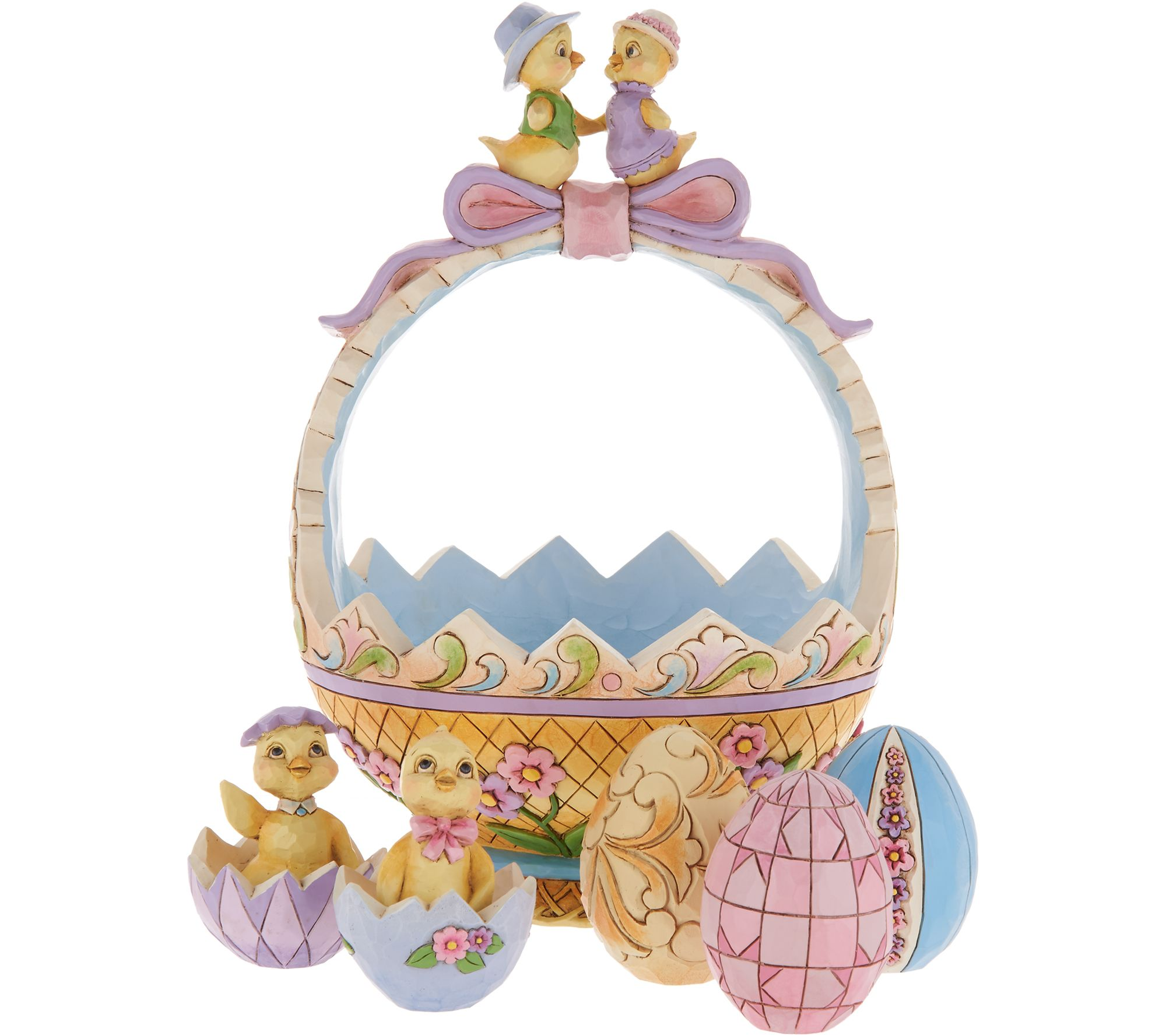 Jim shore exclusive 13th annual easter basket weggs chicks jim shore exclusive 13th annual easter basket weggs chicks page 1 qvc negle Choice Image
