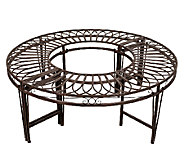 Design Toscano Artistic Roundabout Steel GardenBench - H282717