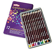 Derwent Coloursoft 12-Piece Pencil Set with Tin - H288717