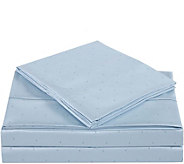 Charisma 310TC Classic Dot Cotton Queen Sheet Set - H293917