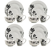 Tabletops Gallery 16-Piece Rebecca Dinnerware Set - H367817